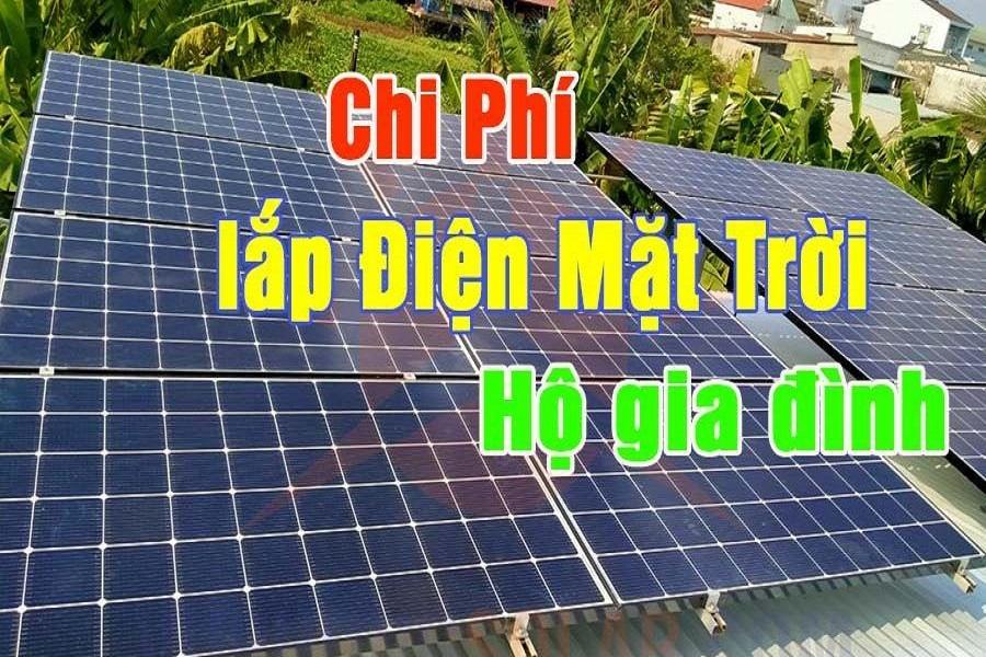 Cấu tạo và chi phí lắp đặt điện mặt trời