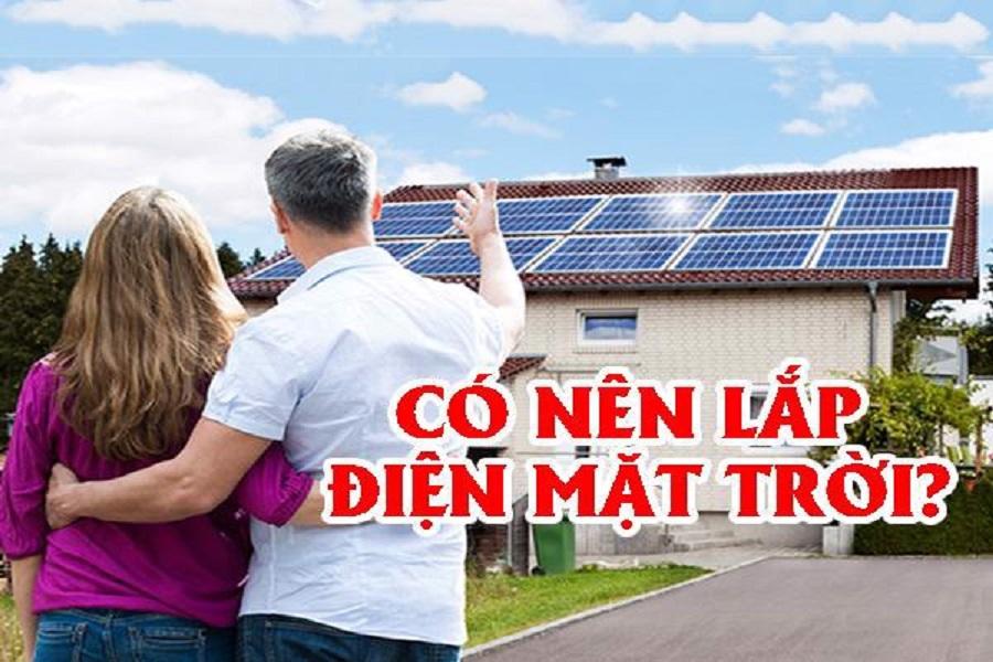 Có nên lắp điện mặt trời không?