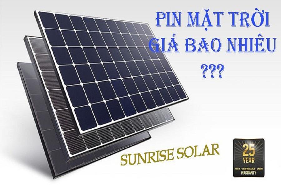 Pin năng lượng mặt trời cho gia đình và những điều cần biết