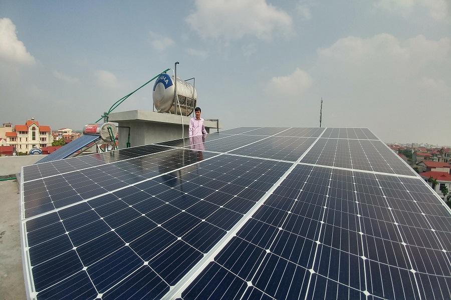 Dịch vụ lắp điện mặt trời tại Bắc Ninh uy tín, chất lượng