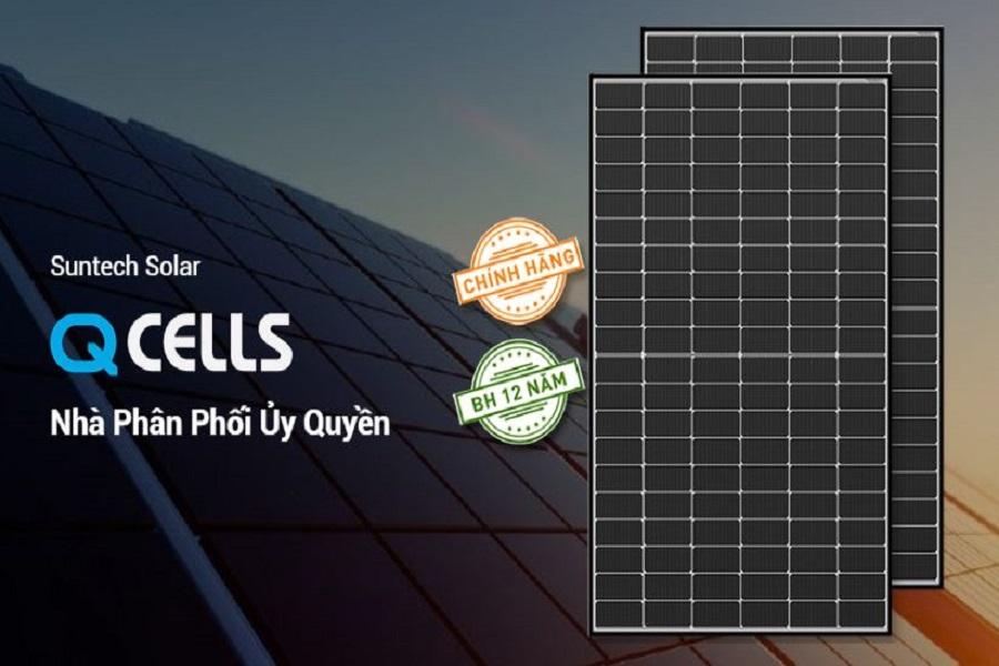 Những ưu điểm nổi bật của tấm pin mặt trời Qcell