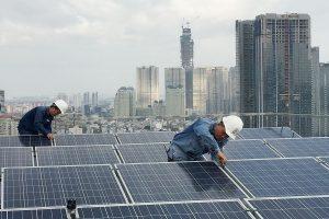Giá lắp điện mặt trời tại Hải Dương
