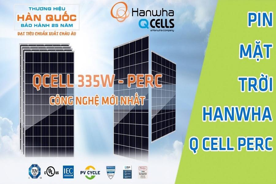 Pin mặt trời Hanwha và đầy đủ những thông tin có liên quan