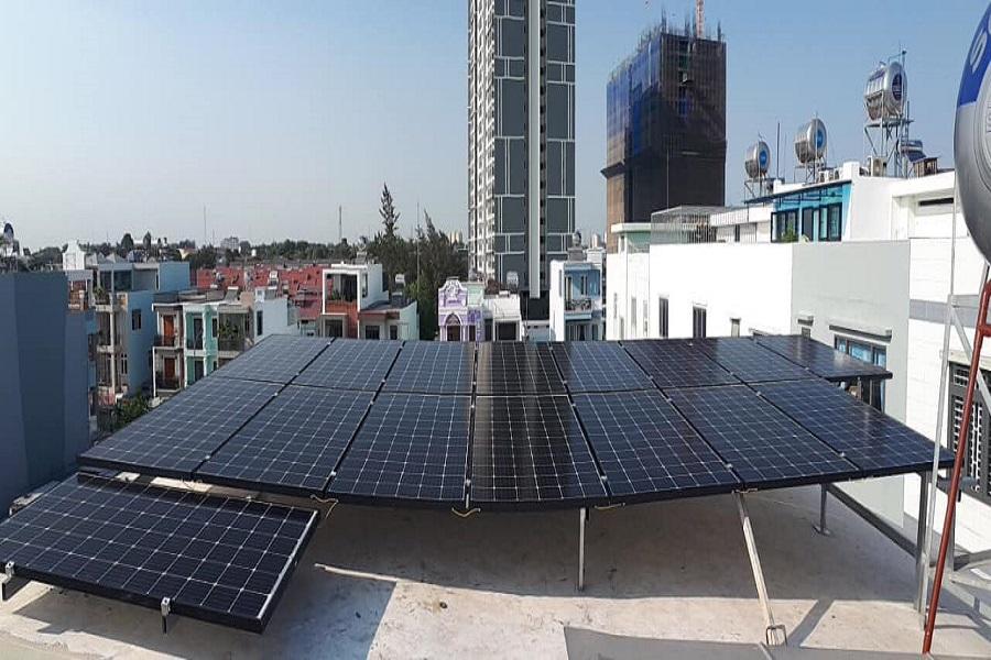 Thông tin lắp đặt hệ thống điện mặt trời tại Thái Bình