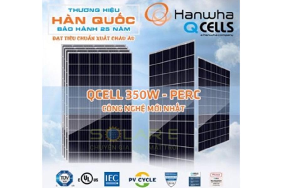Một số chú ý mua pin năng lượng mặt trời Qcell